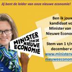 Connect4Value voor Minister van de Nieuwe Economie!