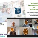 Workshop voor 'changemaker' studenten Hogeschool Leiden