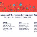 Lancering van het Human Development Report 2020